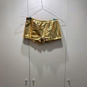 Pants - Gold Shorts NWOT